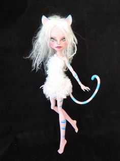 Monster High Repaint by Marina's art dolls, via Flickr