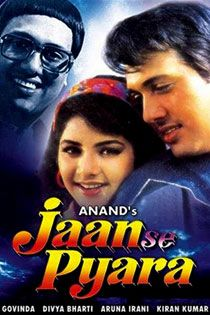 Jaan Se Pyaara (1992) Hindi Movie Online in SD - Einthusan Govinda, Divya Bharati Directed by Anand Music by Anand -Milind 1992 [U] ENGLISH SUBTITLE