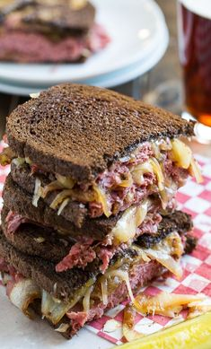 Corned Beef Grilled Cheese #recipe #grilledcheese #comfortfood