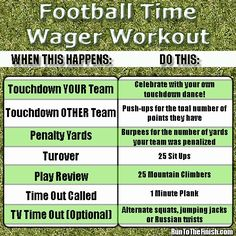 College Football Workout