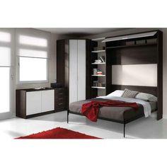 elegante cama abatible vertical de matrimonio de alta gama