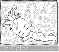 Mandala Coloring Page Digital Stamp Printable By AwayWithThePixels