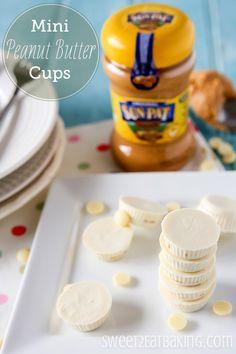 Mini White Chocolate Peanut Butter Cups