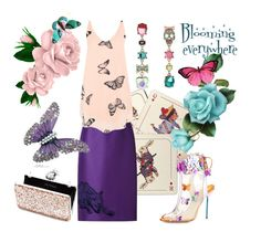 Butterflies by glamheartcafe on Polyvore featuring WearAll, STELLA McCARTNEY, Sophia Webster, Miss Selfridge, Betsey Johnson and Avenida Home