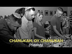 Hanukkah, Oh Hanukkah Come light the menorah Let's have a party We'll all dance the horah Gather 'round the table, we'll give you a treat Sevivon (dreidels) . Primary Classroom, New Media, Hanukkah, Lyrics, English, Amber Necklace, Dance, Songs, Learning