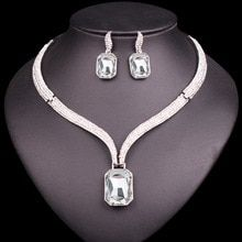 There is always many products on sae upto - Fashion AAA Crystal Choker Necklace & Earrings Sets Bridal Jewelry Sets Brides Wedding Party Costume Jewellery Gifts for Women - Fast Mart Hijab Mode, Mrs Necklace, Crystal Choker, Geometric Jewelry, Wedding Jewelry Sets, Jewelry Gifts, Jewelry Ideas, Jewelry Accessories, Fine Jewelry