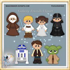 Galaxia amigos Imágenes Prediseñadas, fantasía, películas