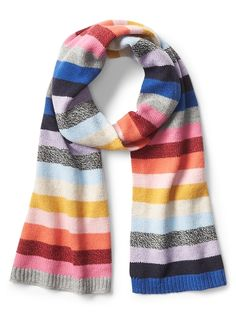 36f74f165 Gap Womens Crazy Stripe Scarf Crazy Stripe Striped Scarves, Plaid Scarf,  Gap, Winter