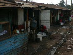 Kawangware is the second largest slum in Nairobi