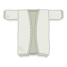 Fiche technique en français permettant de tricoter Philémon, grand gilet oversize, avec explications détaillées et schéma pour les dimensions. Nive...