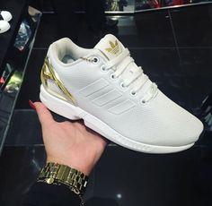 watch febef 8a83e igxbaddies. Adidas ZX Flux WhiteGold ...