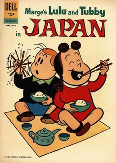 Little Lulu And Tubby In Japan