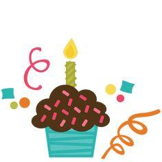 1st birthday svg scrapbook collection birthday svg files cupcake svg rh pinterest com first birthday clipart free 1st birthday clip art images