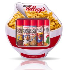 Kellogs Cereal Lip Balms