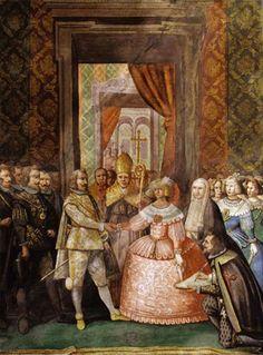 Esponsales de Felipe IV y Mariana de Austria. 1649