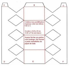 caixa em forma de bala