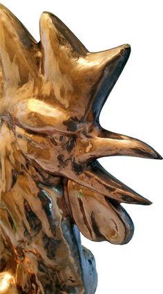 Apercu du nouveau coq de l'église Saint Rieul de Brenouille - Avis de naissance | Patrimoine Art & Traditions