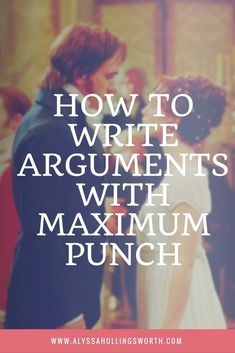 Arguments are one those things that are both exciting and difficult to write. These are creative writing tips for making sure they have max impact. Argumentative Writing, Writing Promps, Book Writing Tips, English Writing Skills, Writing Characters, Writing Workshop, Writing Quotes, Fiction Writing, Writing Resources