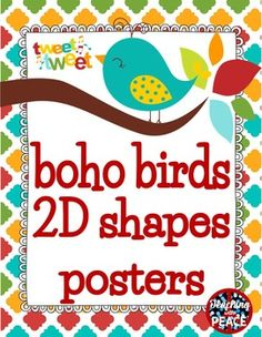 Boho Birds Birthday Wall Display Birthday wall Preschool