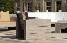 Simple Ob im Garten auf der Terrasse oder im Wintergarten der WITTEKIND Lounge Sessel entspannt