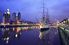 Puerto Madero Buenos Aires Places To Travel, Places To Go, Travel Agency, Hanging Out, Sailing Ships, South America, Places Ive Been, The Good Place, Boat