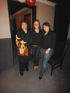 A couple of Strong women in my life -- mother- in- law , daughter &  I'm included too