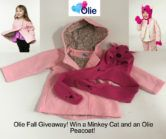 Pink Olie Peacoat and Minkey Cat Giveaway  Open to: United States Canada Ending…