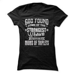 MOMS OF TRIPLETS - tee shirts #Tshirt #clothing