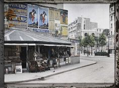 Boulevard Raspail and Rue du Montparnasse seen from Notre-Dame-des-Champs by Stéphane Passet: Paris in Color in the Early 1900s