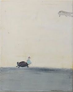 Norbert Schwontkowski    A girl, a turtle and a plane