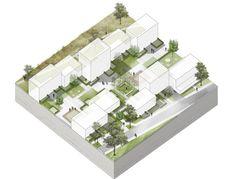 Wohnquartier an der Ratoldstraße - 2. Preis — Teamwerk Architekten