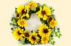 Welcome family and friends in to your home with this beautiful spring time wreath. A lovely addition to your front door! $29.99