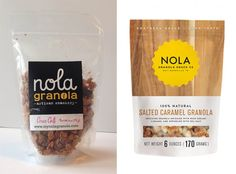 Nola Granola - Before & After