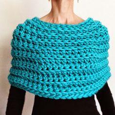 Crochet Capelet No 2 ~ Knit 1 LA