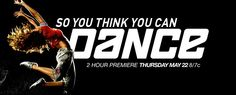 SYTYCD my favorite show! I love how it depicts all kinds of dance - salsa, ballroom, hip hop, contemporary....it's all good :)