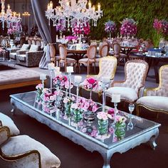Classy wedding cocktail hour seating