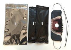 U-mask premium pack contains 1 reversible cover, 2 refills which last up to 1 year, 2 sets of elastic ear bands in different sizes and an envelope to store your mask when you are not using it.