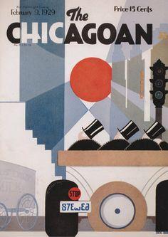 The Chicagoan, February 9, 1929  Source: Planet Barberella