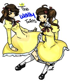 The Wally Twins - Ouran Highschool Host Club OC by CreepyClassic ...