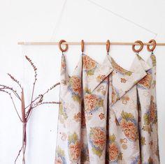 Japanese Linen Curtain Panel