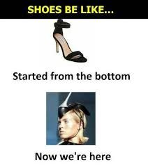 Image result for fashion memes Funny Pins, Funny Memes, Hilarious, Jokes, Silly Meme, Be Like Meme, Starting From The Bottom, Comfortable Heels, Know Your Meme