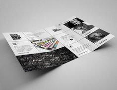 Creative studio brochure design inspiration 3 20+ Simple Yet Beautiful Brochure Design Inspiration & Templates