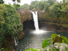 The waterfalls on Hawaii are some of the most spectacular in the world and is also one of the islands hidden treasures. Description from hawaii-top-ten.com. I searched for this on bing.com/images