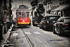 No.28, the most famous Lisbon tram   by pentlandpirate