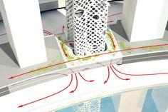 O 14 de torre por Reiser + Umemoto en Dubai, Emiratos Árabes Unidos