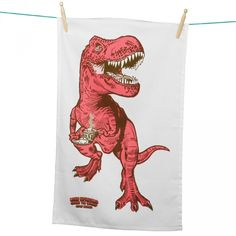 Jay Jay 'Tea-Rex' Tea Towel