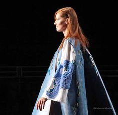 Last night I attended this year's Graduate Fashion Week Gala & Awards Show and was introduced to 25 of the hottest graduate fashion designers from across the country in a spectacular showcase that featured womenswear,… Lauren Smith, Yellow Print, Award Winner, Catwalk, Knitwear, Awards, Stage, Kimono Top, Runway