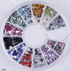 Nail Art  Acrylic Rinestone Manicure Decal Decor Charm #eozy