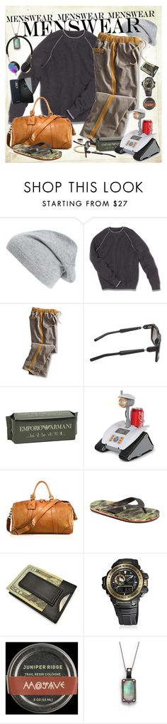 """""""menswear."""" by man-ray ❤ liked on Polyvore featuring Public Opinion, Kuboraum, Polo Ralph Lauren, Volcom, Royce Leather, G-Shock, Stephen Webster, Frends, mens and men"""