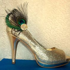 Image result for feather shoe clips
